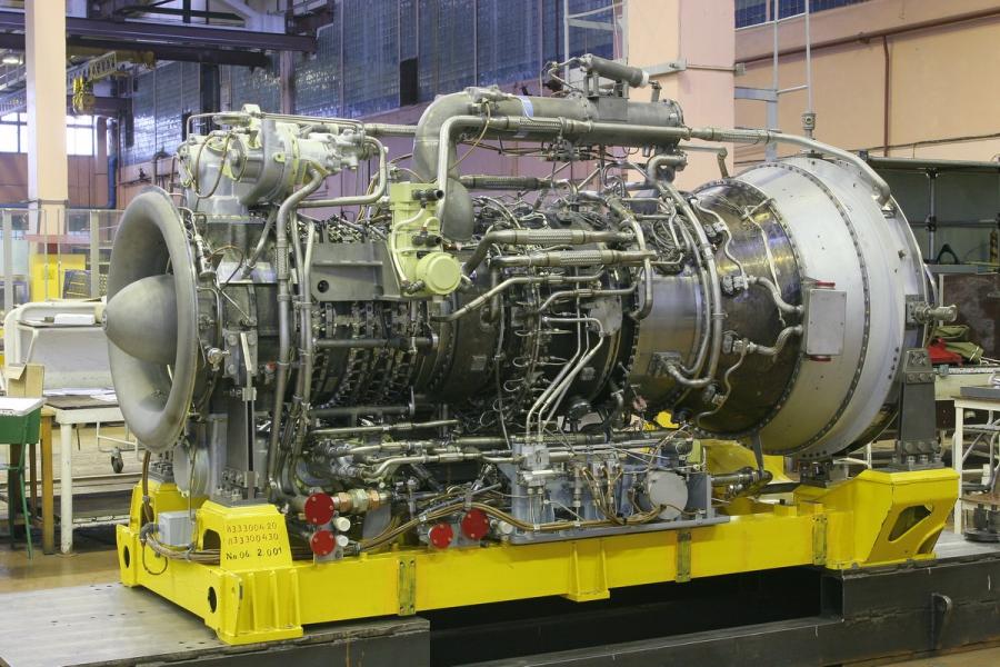 Морской газотурбинный двигатель