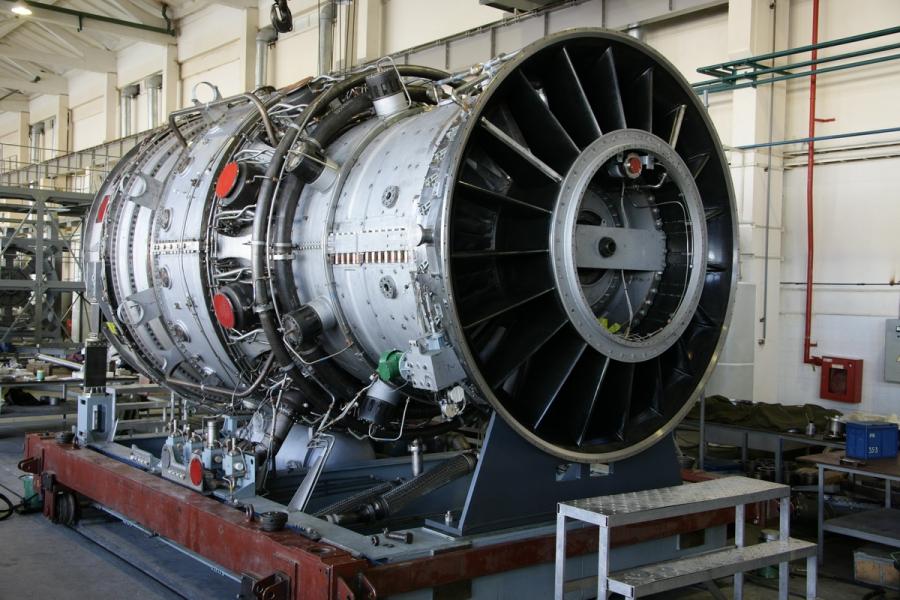 Одновальная газовая турбина